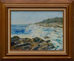Carmel Rocks & Surf, California Seascape