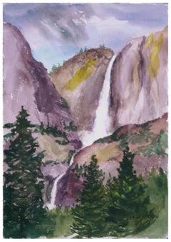 Bridal Veil Falls Landscape