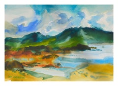 Lake & Mountains Landscape