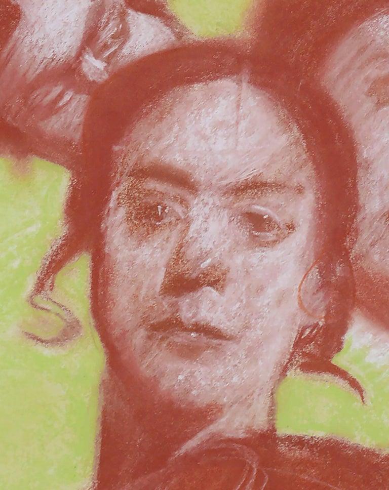 Four Faces - Portrait Study by Clayton Anderson For Sale 2