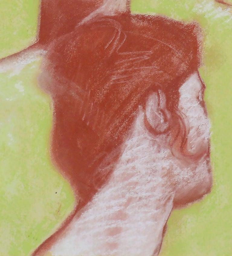 Four Faces - Portrait Study by Clayton Anderson For Sale 4