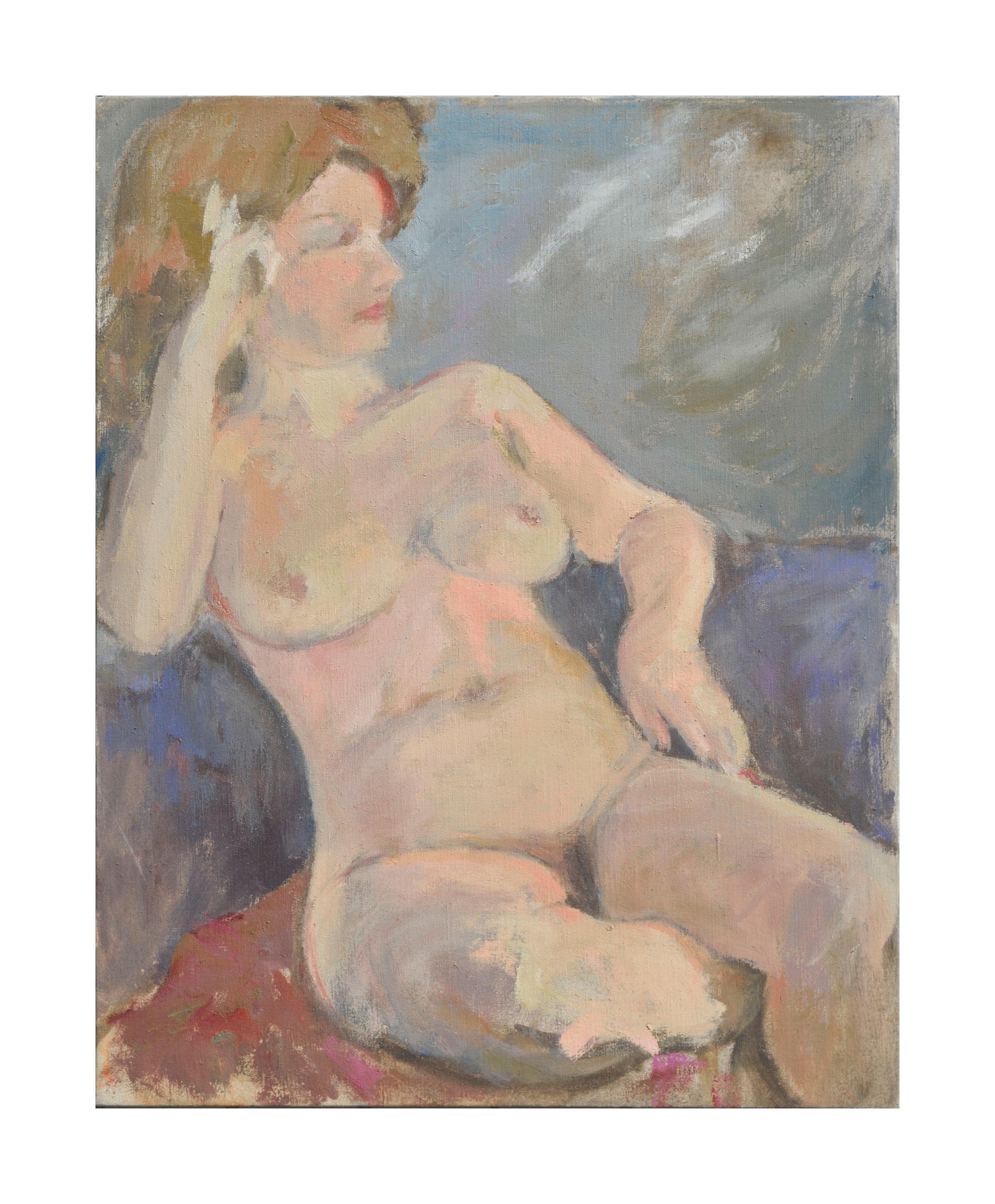 Mid Century Nude Study