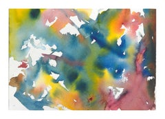 Tie Dye Abstract Watercolor