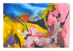 Colorful Abstract Watercolor