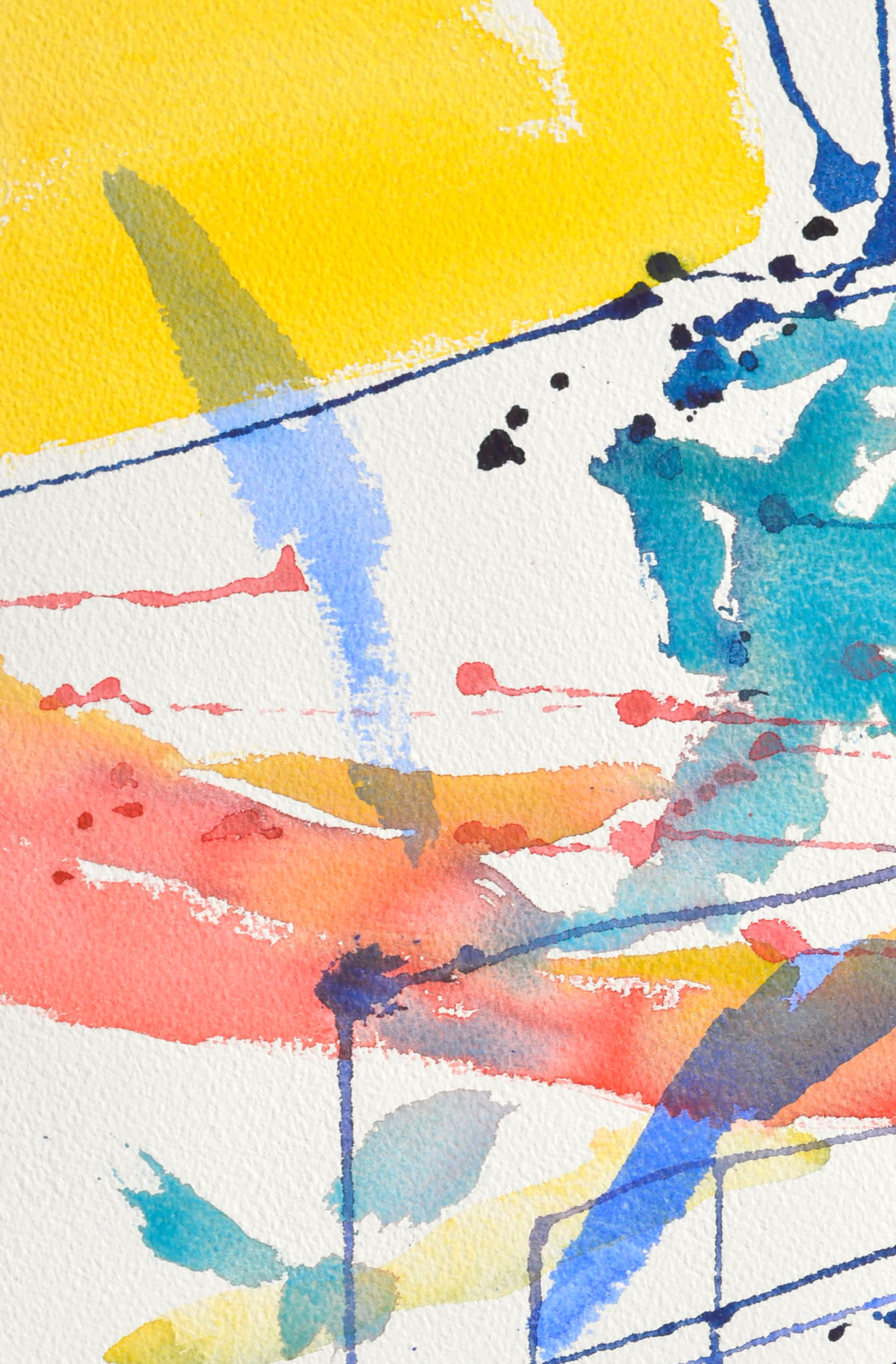 Linear Abstract Watercolor