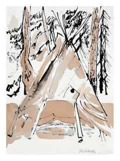 Forest Teepee Landscape