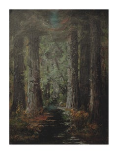 Late 19th Century California Redwood Landscape