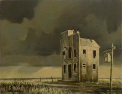 Abandoned Building Landscape