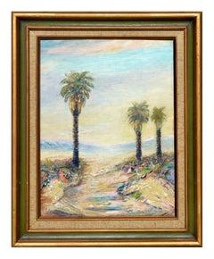 Twin Palms - California Desert Landscape