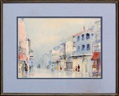 New Orleans Street Scene Figurative