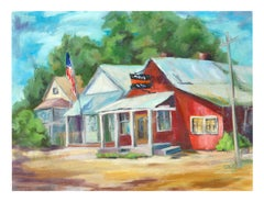 Country Town Landscape