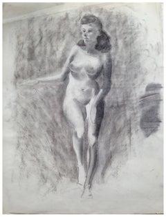 Mid Century Nude Figure Study II