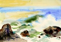 Incoming Tide Seascape