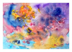 Multi-Color Abstract Watercolor