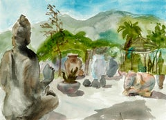 Zen Garden - Figurative Landscape