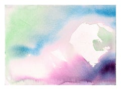 Lavender Abstract Watercolor