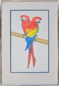 Study of Two Parrots