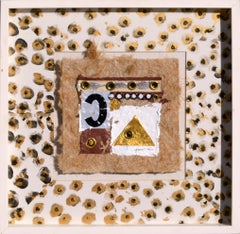 """Spotty 'C' Shadowbox Collage"""