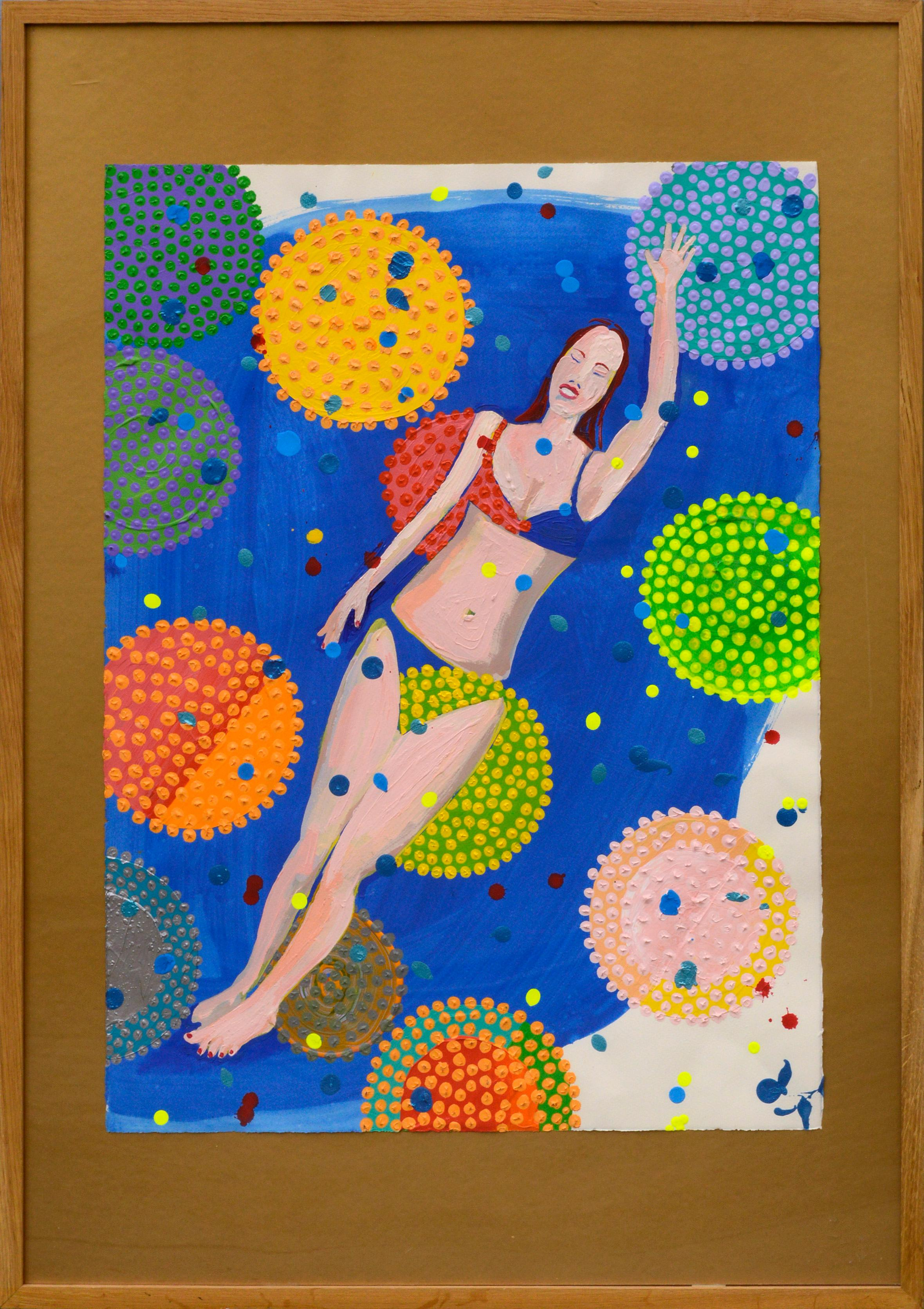 Bather Abstract