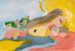 Still Life with Mandolin and Flowers