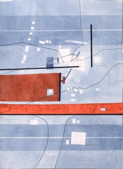 """""""Roads and Things"""" Geometric Abstract"""
