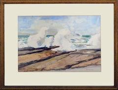 Crashing Surf Seascape