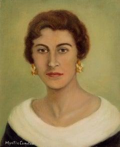 Mid Century Portrait of the artist