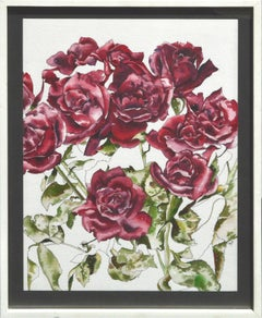 Red Roses - Botanical Study