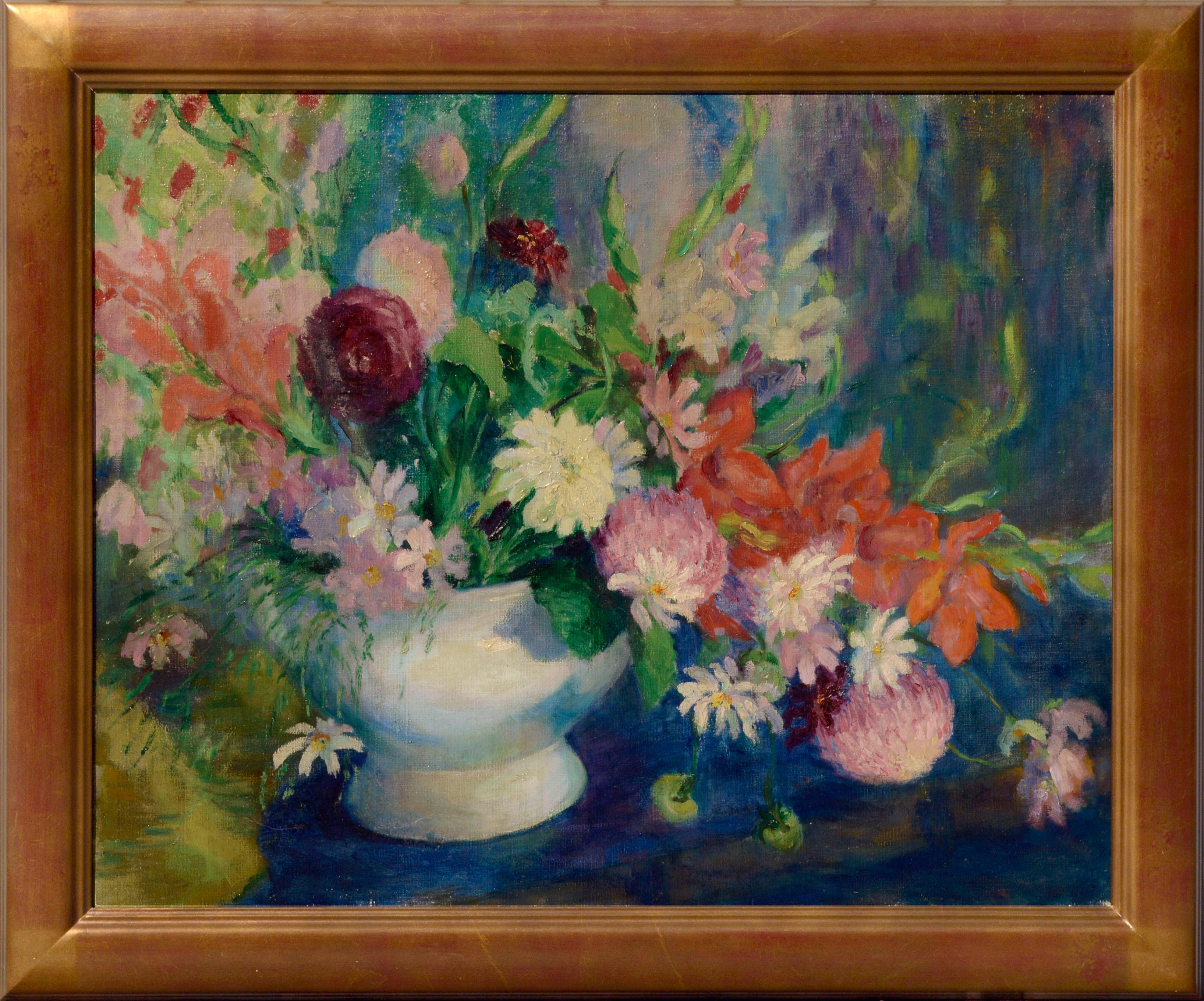 Early 20th Century Spring Floral Still Life
