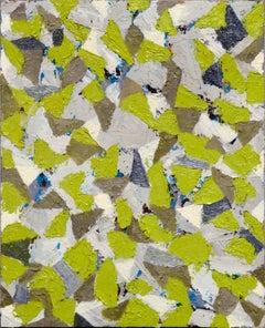 Green & Grey Abstract