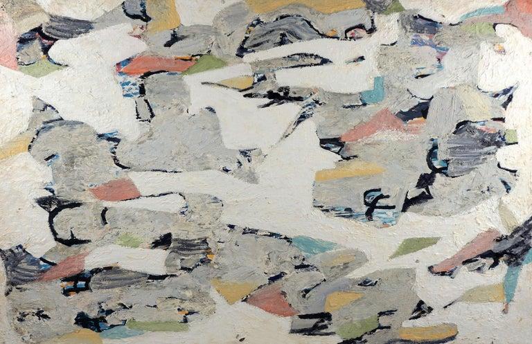 Michael Pauker  Abstract Painting - Abstract Coastal