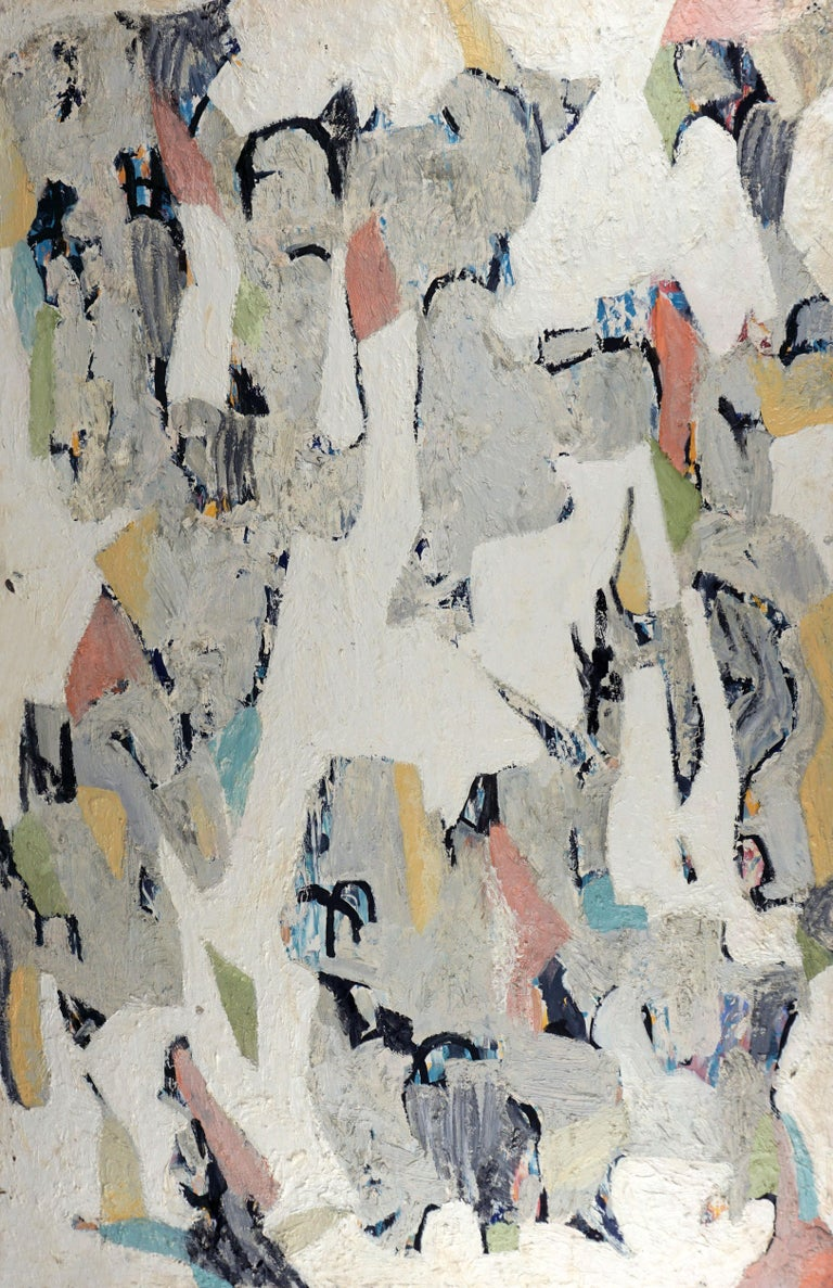 Abstract Coastal  - Painting by Michael Pauker