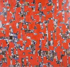 """""""Just Passing Through"""" - Red Abstract"""