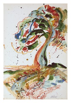 Colorful Abstracted Tree