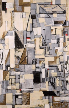 City Industrial - Cubism Abstract