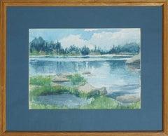Blue Lake Landscape