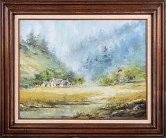 """Oregon Coast Houses"" Landscape"