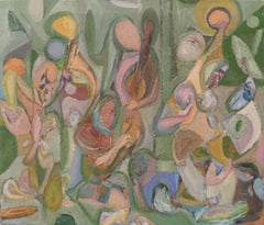 Abstract Expressionist Musicians