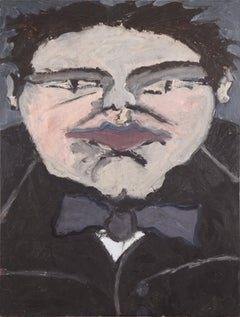 Portrait of a Man with a Bowtie
