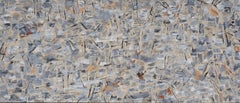 Large Abstract of Suburbia Deconstructed
