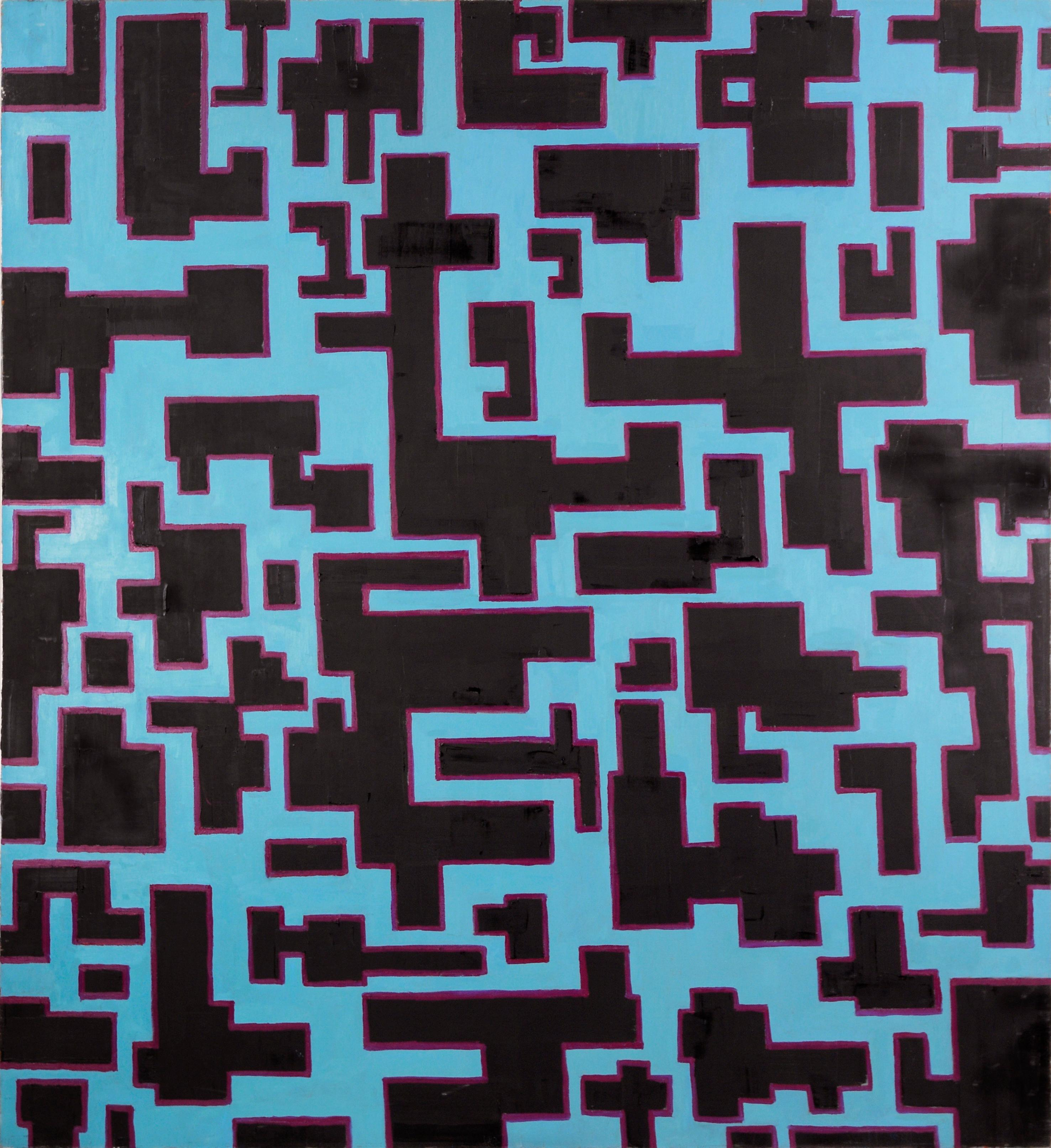 """""""Knossos"""" Rectilinear Abstract"""