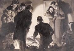 """The Tuft of Hair"" (Murder Mystery 1937)"