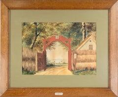 """""""Den Rode Port"""" - Landscape Golden Gate Park"""