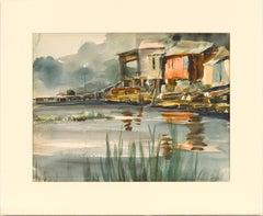 Dock over Water Landscape