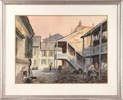 Street Scene with Bicycle