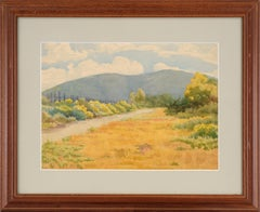 American Impressionist Drawings and Watercolor Paintings