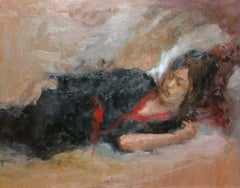 Reclining Woman by Laurie Adams