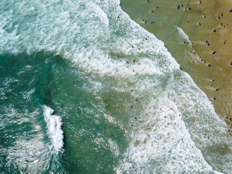 "Dinesh Boaz Landscape Photograph - ""Pacific Waves,"" Newport Beach, California"