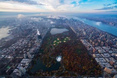 'Park Life', large contemporary Central Park, New York City aerial photography
