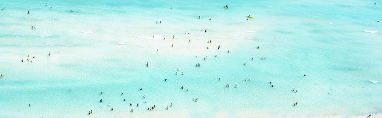 "Dinesh Boaz Landscape Photograph - ""Play,"" South Beach, Miami, Florida"